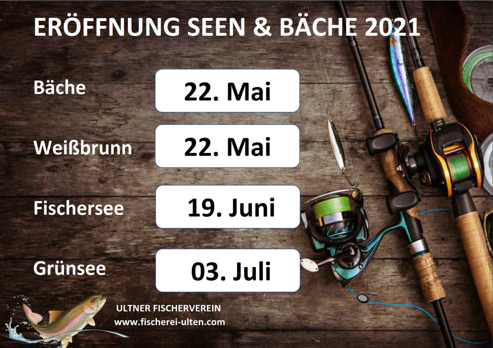 Eröffnung Grünsee am Samstag 03.07.2021